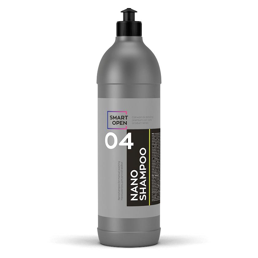 Наношампунь для ручной мойки с консервантом Smart Open 04 NANO SHAMPOO (1л)