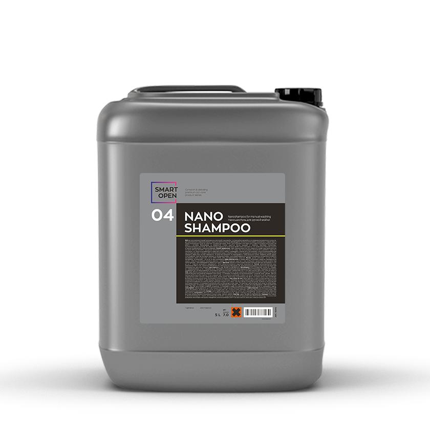 Smart Open 04 NANO SHAMPOO (5л) Наношампунь для ручной мойки и консервант