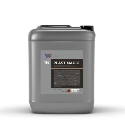 Полироль пластика салона Матовое освежающее молочко Smart Open 16 PLAST MAGIC (5л)