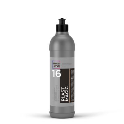 Полироль пластика салона Матовое освежающее молочко Smart Open 16 PLAST MAGIC (500мл)