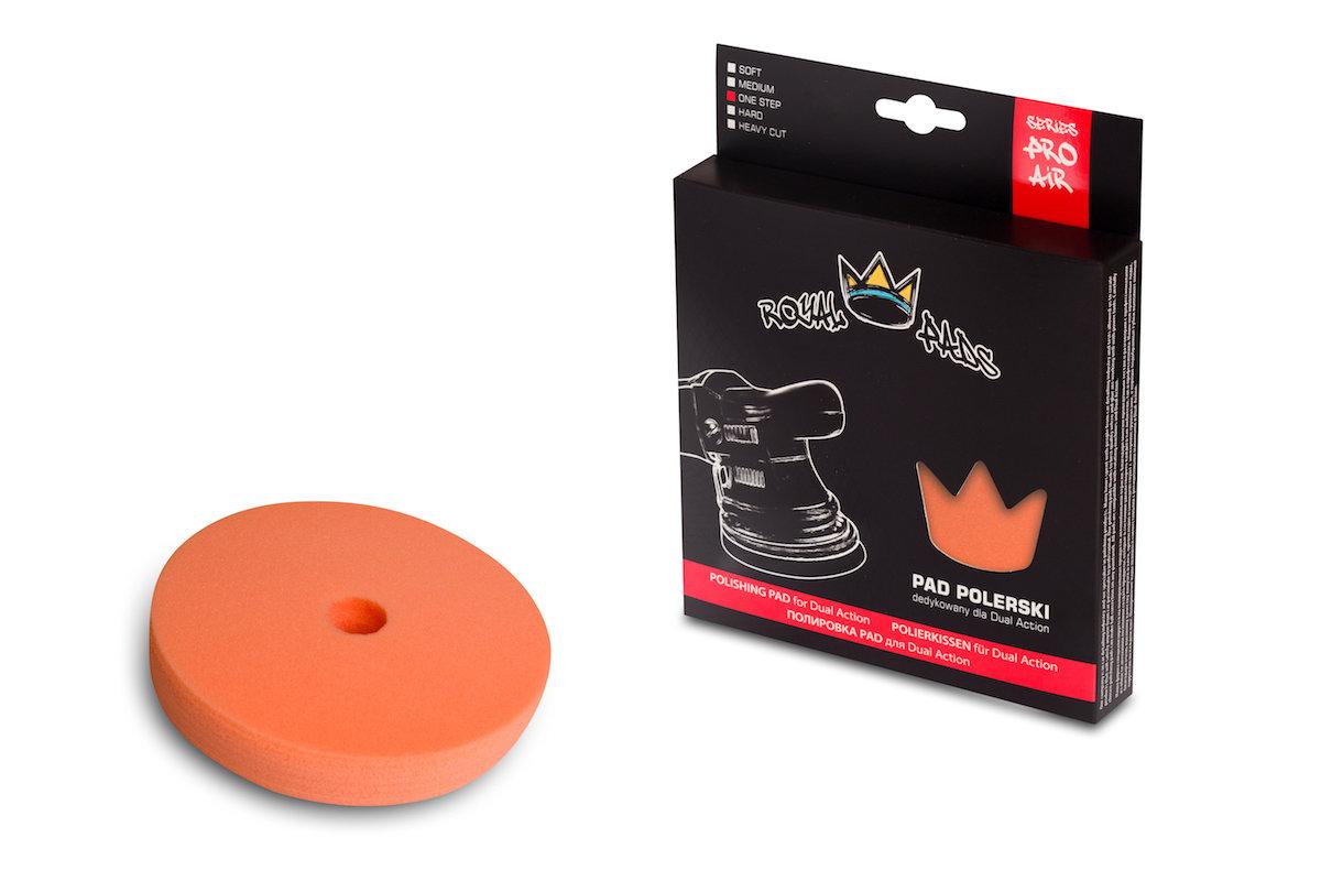 Полировальный круг для одношаговых паст Низкопрофильный ROYAL PADS THIN ONE STEP Оранжевый (80мм)