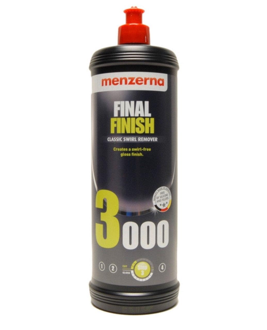 Полировальная паста Антиголограммная MENZERNA 3000 FINAL FINISH (1л)