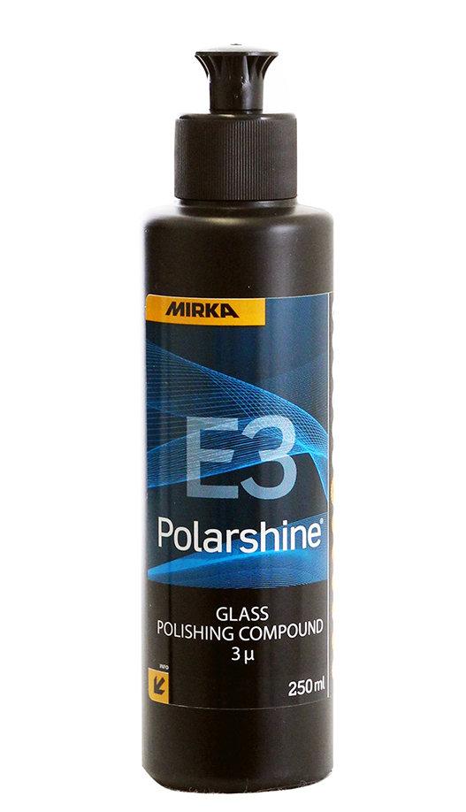 Полировальная паста для стекла MIRKA E3 POLARSHINE (250мл)