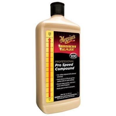 Meguiar's 100 PRO SPEED COMPOUND (945мл) Абразивная полировальная паста