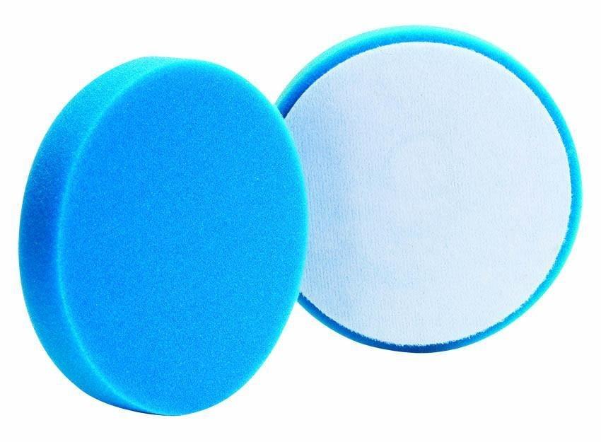 BUFF&SHINE Мягкий полировальный круг плоский ГОЛУБОЙ 130 мм