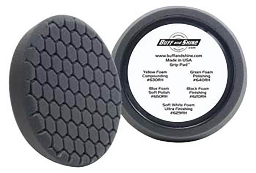 BUFF&SHINE Финишный очень мягкий полировальный круг ЧЕРНЫЙ 150 мм