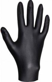 Перчатки нитриловые ультрапрочные JETA PRO Черные, размер М
