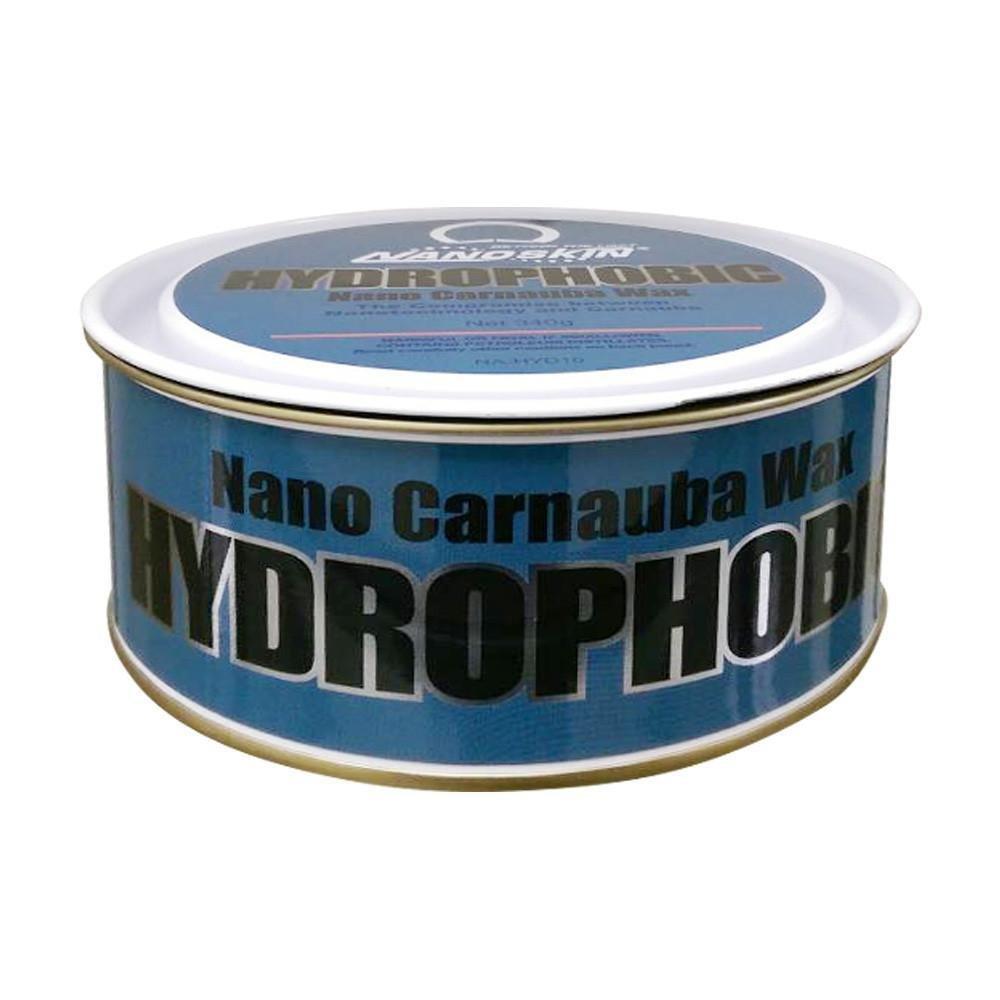Твердый воск для кузова NANOSKIN HYDROPHOBIC NANO CARNAUBA WAX (340гр) Гидрофобный