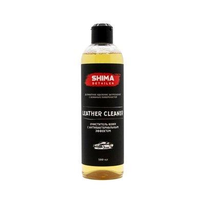 Очиститель кожи с антибактериальным эффектом SHIMA DETAILER LEATHER CLEANER (500мл)