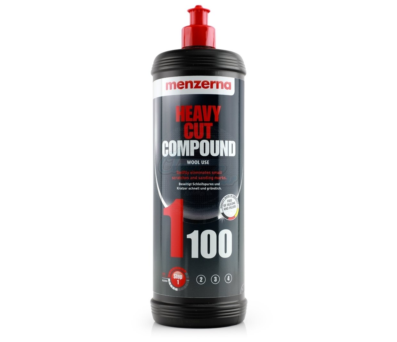 MENZERNA 1100 HEAVY CUT (1л) Высокоабразивная полировальная паста