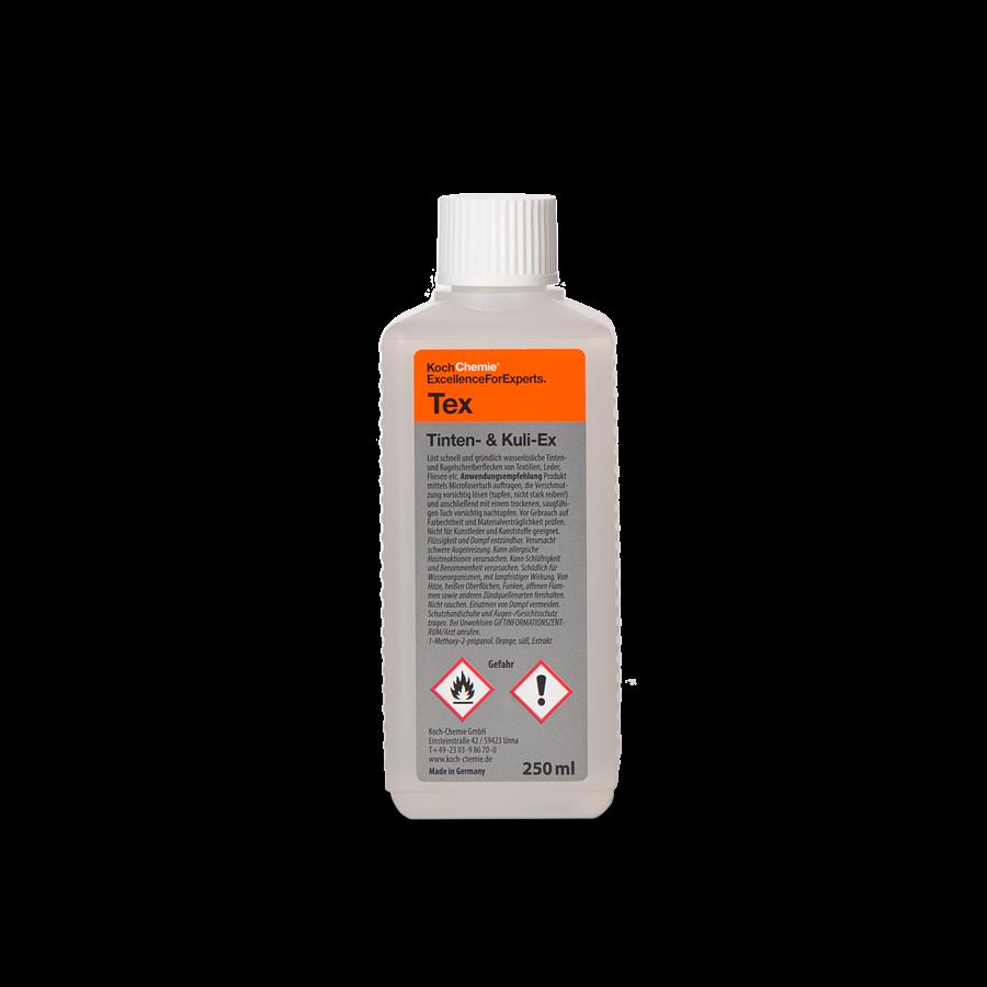 Пятновыводитель сильных загрязнений с кожи Koch Chemie Tex TINTEN & KULI-EX (250мл)