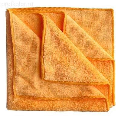 HANKO MC-O Оранжевая Салфетка из микрофибры 40х40 см