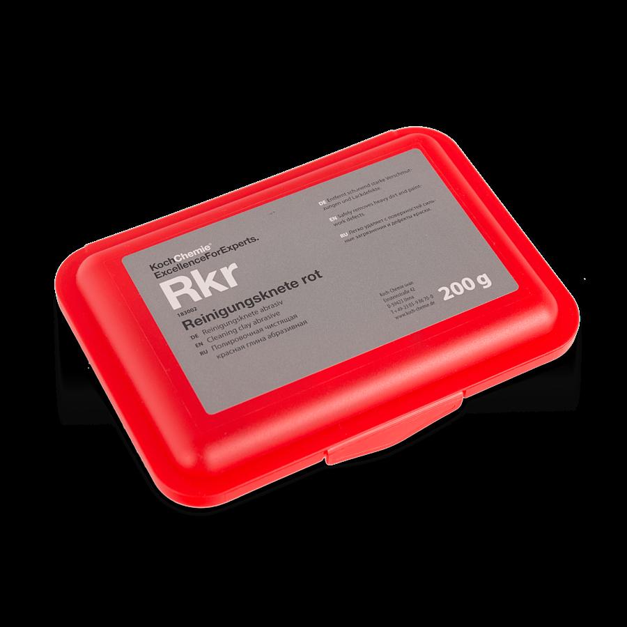 Koch Chemie Rkr REINIGUNGSKNETE ROT (200гр) Глина высокоабразивная красная