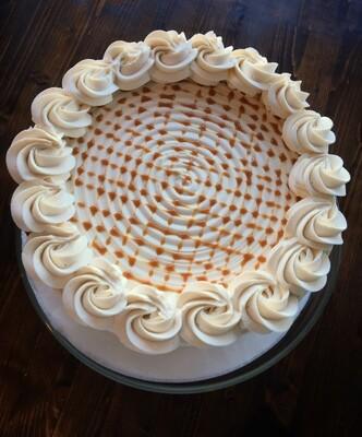 6 Inch Cake (provides 4-6 slices)