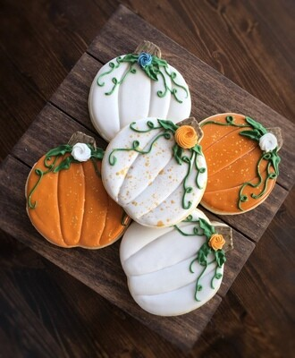 Pumpkin Cookies - Dozen (No gift box)