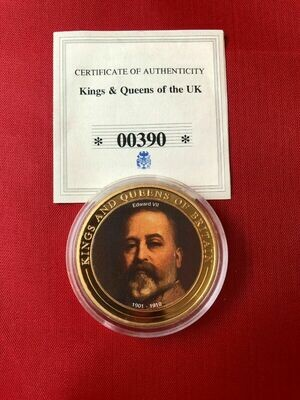 Edward VII Coin - Kings & Queens Of The UK