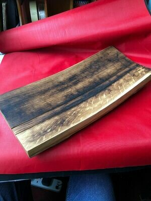 Oak Whisky Barrel Serving Board Ideal For Dinner Parties - Cheese Board?