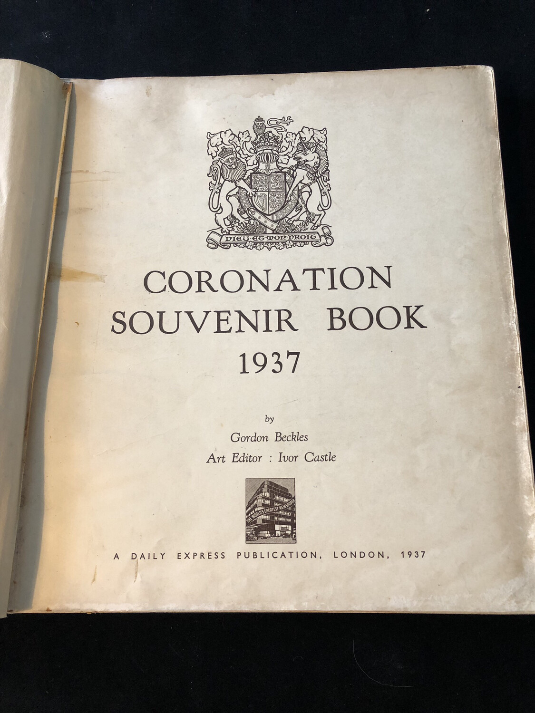 Coronation Souvenir Book 1937 - Daily Express Publication