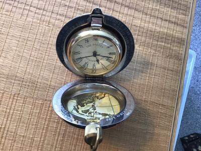 Dalvey Voyager Commemorative Clock (corporate gift) SSGA.UK 2000