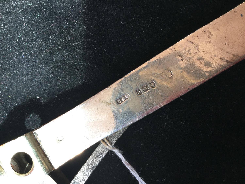 Silver Cigar Cutter - Hallmarked 1909