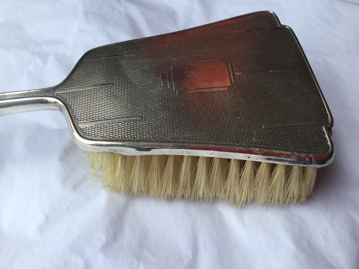 Silver Backed Hairbrush (1933)