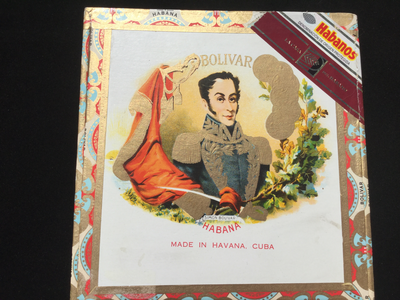 Bolivar Habanos Cigar Box - Collectors Box