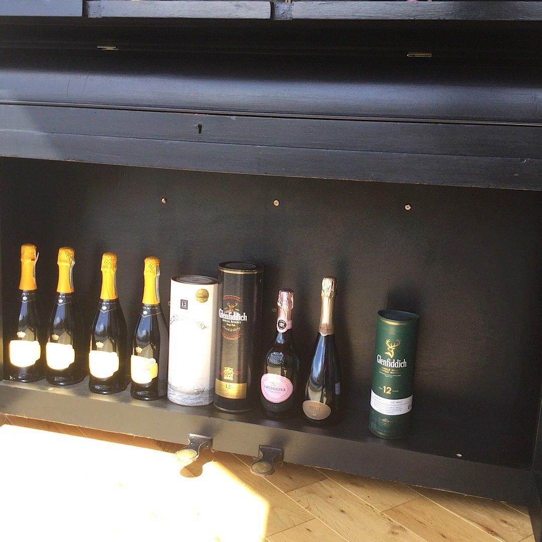Piano Bar - Lower Storage Area