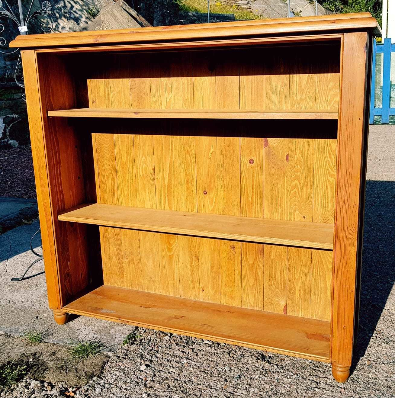 Large Solid Pine Bookcase Shelves