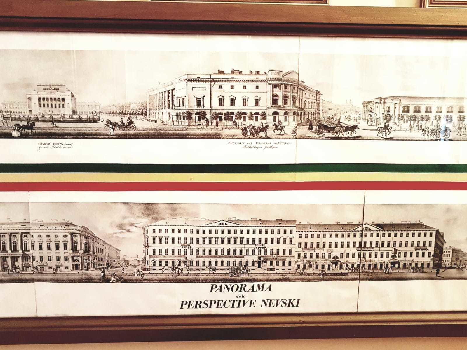 Russian Prints - long gallery prints £225.00 (pair)
