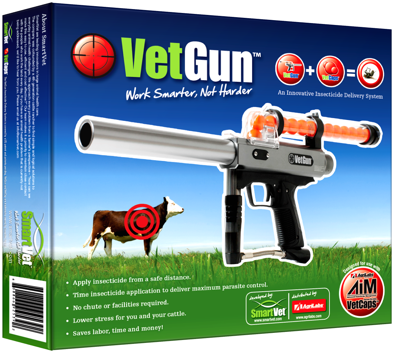 VetGun Kit (incl. Gun & CO² adaptors only)