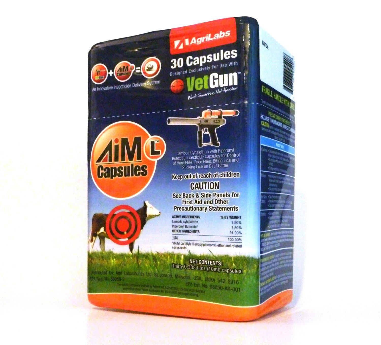 AiM-L VetCaps x30  (Lambda Cyhalothrin)