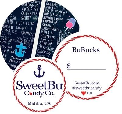 BuBucks Gift Card