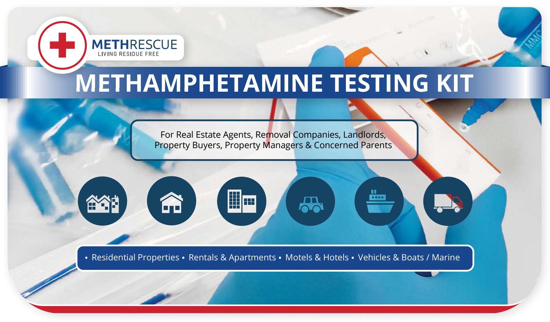 MethRescue Testing Kit (10 Tests) MTHRES10