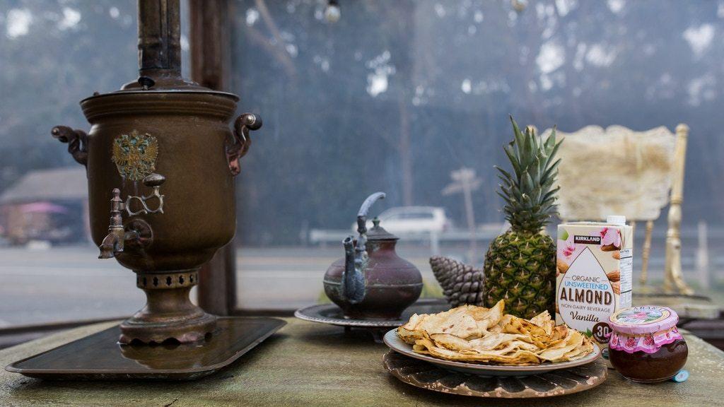 Tea ceremony with samovar (Gift Certificate) 00013