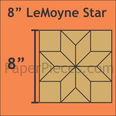 LeMoyne Star 8 inch