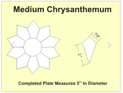 Chrysathemums Medium 5 inch