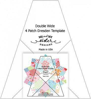 """Linjal/mal med mønsteret Cherry Pickin, designet av """"Me and My sister"""""""