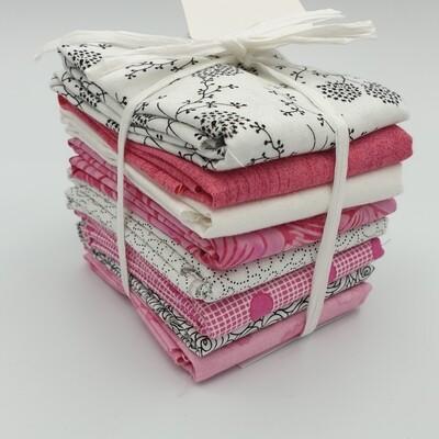 Rosa og Hvit 6 stk30 x 55 cm Cake Mix vennlig