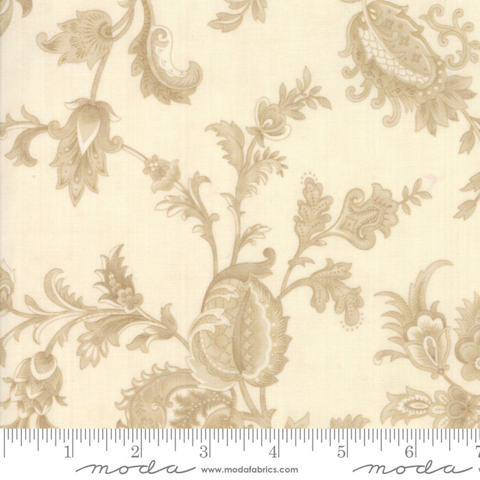 Cinnaberry Beige blomster 44201 21
