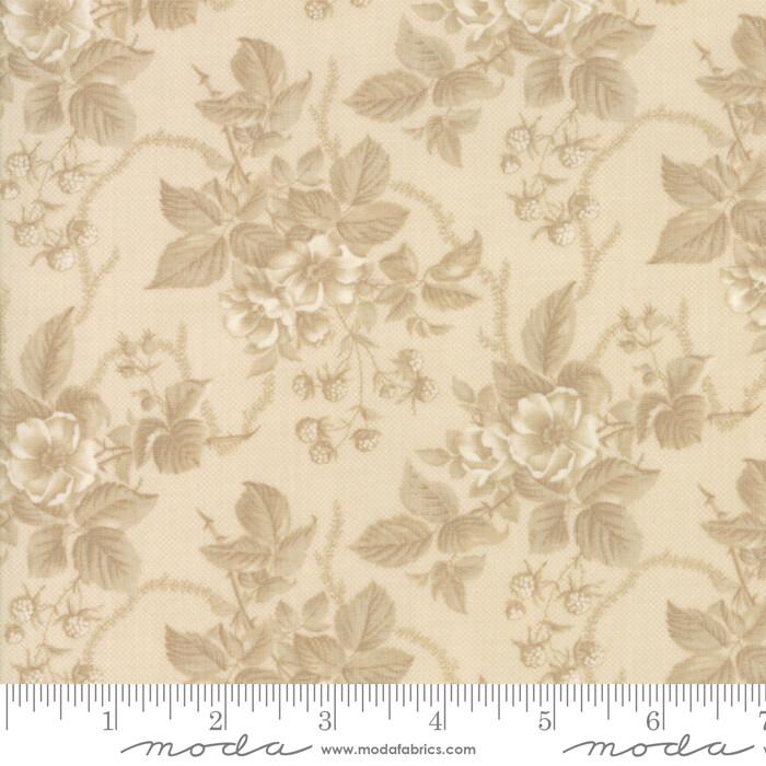 Cinnaberry Beige blomster 44202 21