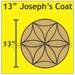 Josephs Coat 13 inch 1 blokk