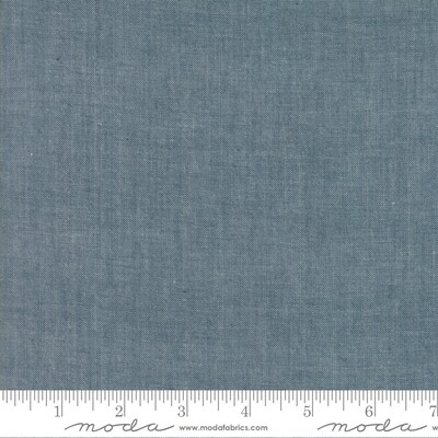 Moda Chambray Grey 12051 12
