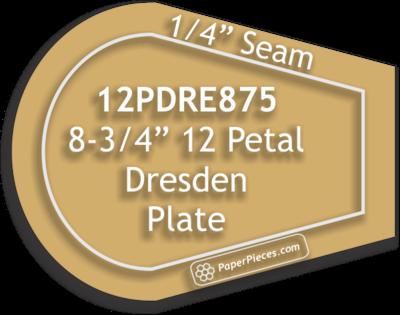 Akryl skjæremal Dresden Petal 8-3/4