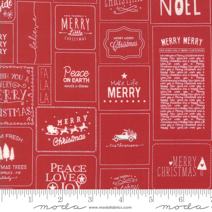 The Christmas Card Red 5770 21 Sweetwater