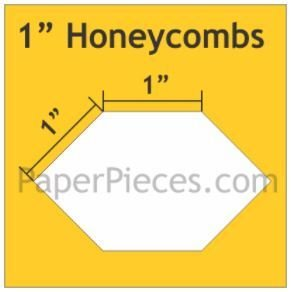 Honeycombs 100 stk 1 inch