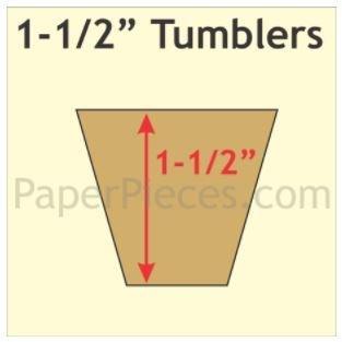 Tumbler 1 1/2 inch 840 stk
