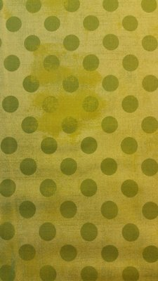 Grunge dot Lime Grønt