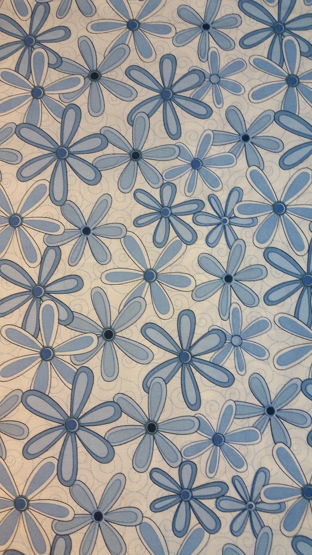 Blå blomster Helene Stubbings