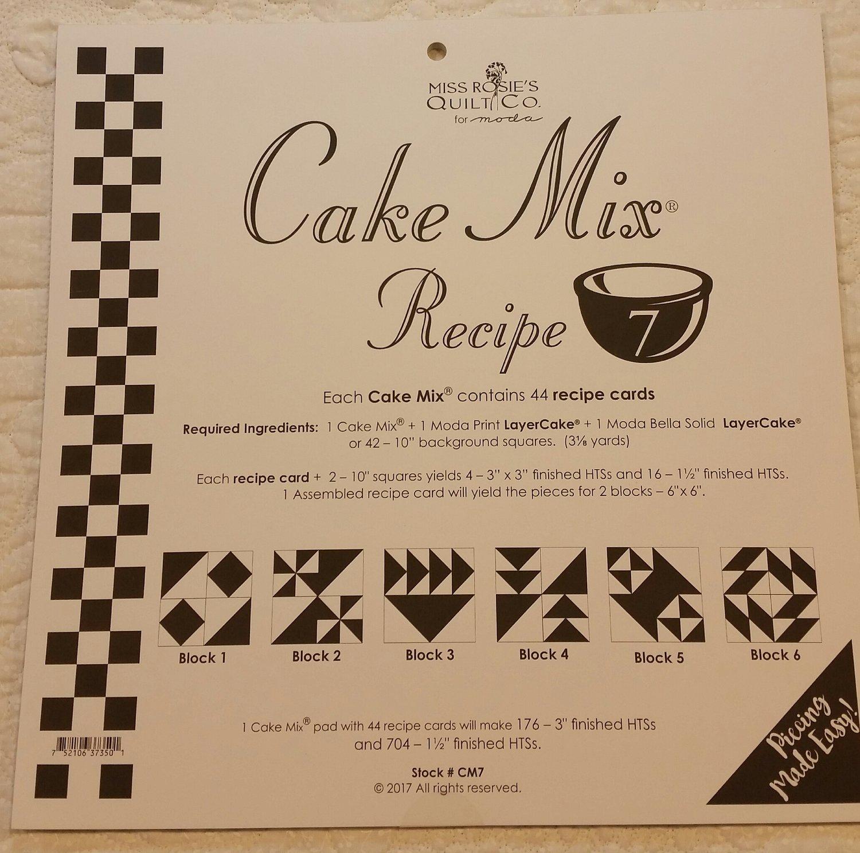 Cake Mix nr 07