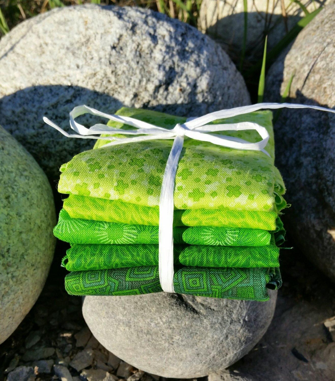 Super grønn  5 stk ca 30 x 55cm